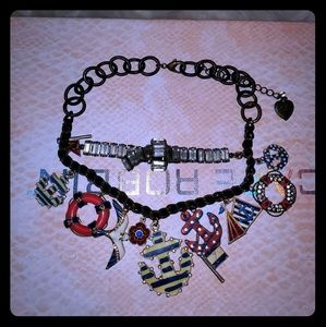 Vintage betsy Johnson charm bracelet